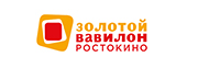 Логотип Золотой Вавилон Ростокино